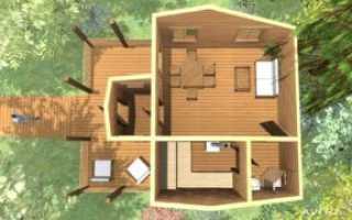 Летняя кухня с баней: проект, дизайн интерьера, фото