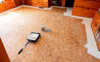 Чем покрасить ОСБ плиту внутри дома: обзор материалов