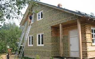 Утепление стен деревянного дома снаружи минватой: теплоизоляция наружного фасада дачи из бруса своими руками