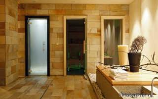 Стеклянные двери для бани: размеры двери, выбор и установка, популярные производители банных дверей