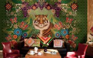 Стильные фрески в интерьере – фото идей по сочетанию дизайна