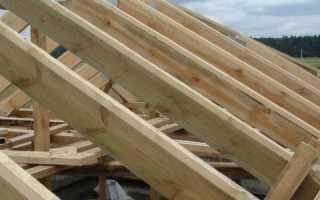 Расстояние между стропилами: односкатной, двускатной крыши