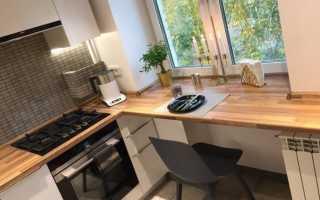 Подоконник столешница на кухне: фото стола, инструкция по установке