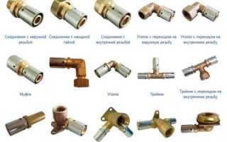 Фитинги для металлопластиковых труб: устройство, виды и особенности монтажа