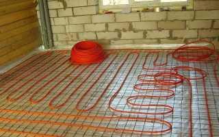 Как сделать электрический теплый пол: схема, фото и видео инструкция