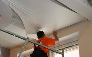 Натяжные потолки «Своими руками» комплекты для монтажа и установки: видео и отзывы