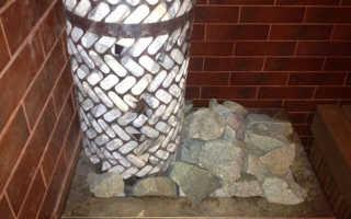 Как правильно уложить камни в банную печь: инструкция для правильно комплектации каменки
