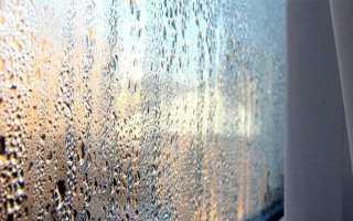 Почему конденсат на пластиковых окнах