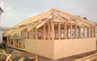 Каркасные дома – плюсы и минусы каркасно-щитового строительства