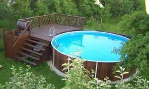 Лестница для бассейна: как сделать своими руками