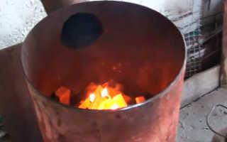 Печь Бубафоня – схема конструкции и изготовление своими руками