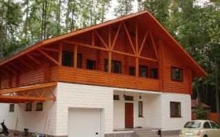 Комбинированные дома из пеноблоков и дерева – проекты, фото, видео, отзывы