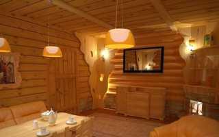 Комната отдыха в бане (86 фото): дизайн интерьера помещения для отдыха внутри бани