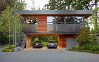 Гараж в доме: фото, плюсы и минусы встроенной постройки в частном жилье, что лучше – внутри или отдельно