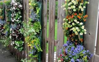 Как украсить забор из профнастила