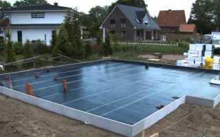 Утепленная шведская плита (УШП) – устройство и технология строительства фундамента