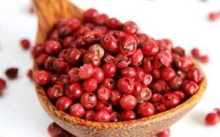 Розовый перец – полезные свойства и применение в кулинарии