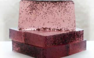 Натуральное мыло скраб для лица и тела: приготовление основы и рецепты