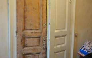 Реставрация межкомнатных дверей своими руками — инструкция