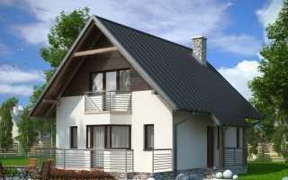 Проекты домов 6 на 8 с мансардой (49 фото): план каркасного дачного дома 6х8, коттедж из бруса и пеноблоков