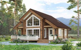 Дома из лафета: плюсы и минусы постройки