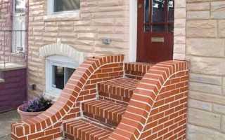Крыльцо из кирпича: варианты конструкций и особенности строительства
