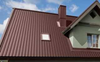 Какие существуют размеры профлиста для крыши — толщина и ширина (фото, видео)