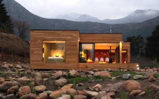 Сборные быстровозводимые панельные и деревянные каркасноые дома