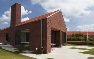 Одноэтажные кирпичные дома (93 фото): красивые проекты для строительства из кирпича, варианты для площади 100, 120 и 150 кв