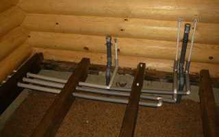 Технические особенности водопровода в бане зимой, описание и монтаж