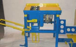 Станок для производства керамзитоблоков своими руками