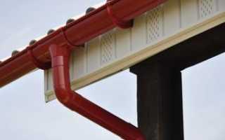 Пластиковый водосток для крыши: монтаж своими руками отливов, желобов, труб