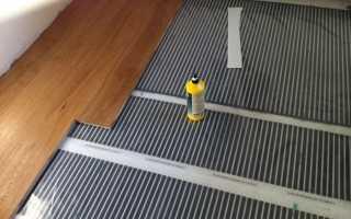 Теплый пол под паркетную доску: пошаговая инструкция