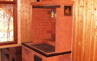Печь-шведка с духовкой и плитой: порядовка, описание кладки, сушка