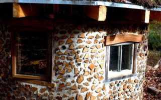 Дом из дров и глины: поленница или глиночурка — популярные технологии