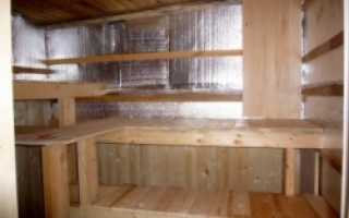 Пароизоляция для бани: потолок, стены, пошаговая инструкция
