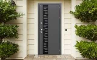 Входные двери для частного дома утепленные