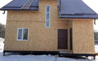 Внешняя отделка дома из сип панелей: варианты, их особенности