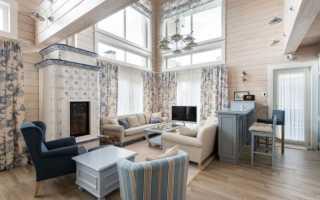 Шторы для деревянного дома или бани: выбор ткани, варианты оформления