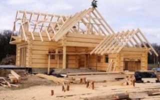 Сделать недорогой дом из профилированного бруса своими руками: инструкция по строительству (фото и видео)