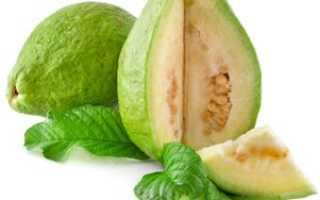 Гуава – фрукт теплых стран: состав и полезные свойства