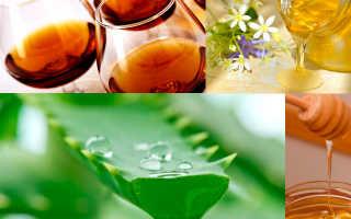 Алоэ, мед, кагор: рецепт приготовление целебной настойки, как использовать