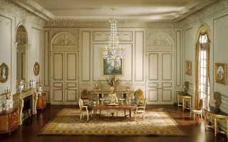 Стиль рококо в интерьере – отделка, основная палитра, выбор декоративных элементов