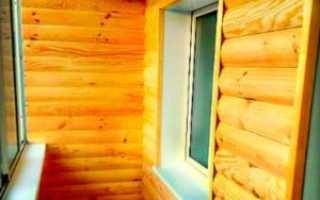 Отделка балкона блок-хаусом: выбор материала и технология обшивки