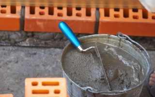 Кладочная смесь для кирпича: расход белой сухой продукции на 1 м2