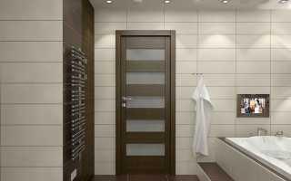 Двери для ванной – 70 фото лучших идей в интерьере ванной