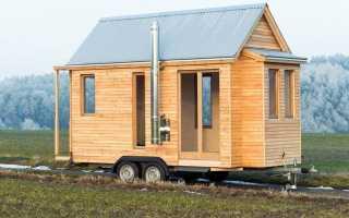 100 лучших идей: дом (прицеп) на колесах с фото внутри и снаружи
