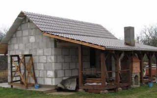 Баня из керамзитобетонных блоков (31 фото): плюсы и минусы, пошаговая инструкция