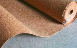 Пробковая подложка под ламинат: как правильно уладывать