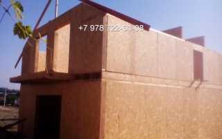 Строительство домов из сип панелей: пошаговая инструкция
